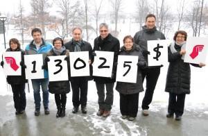 Merci aux employés du CEGEP de Sherbrooke