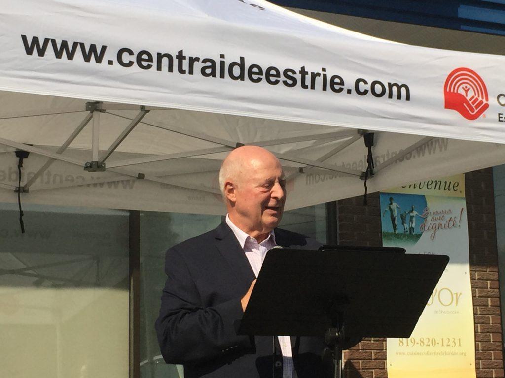 Yves Jodoin, président CA Centraide Estrie
