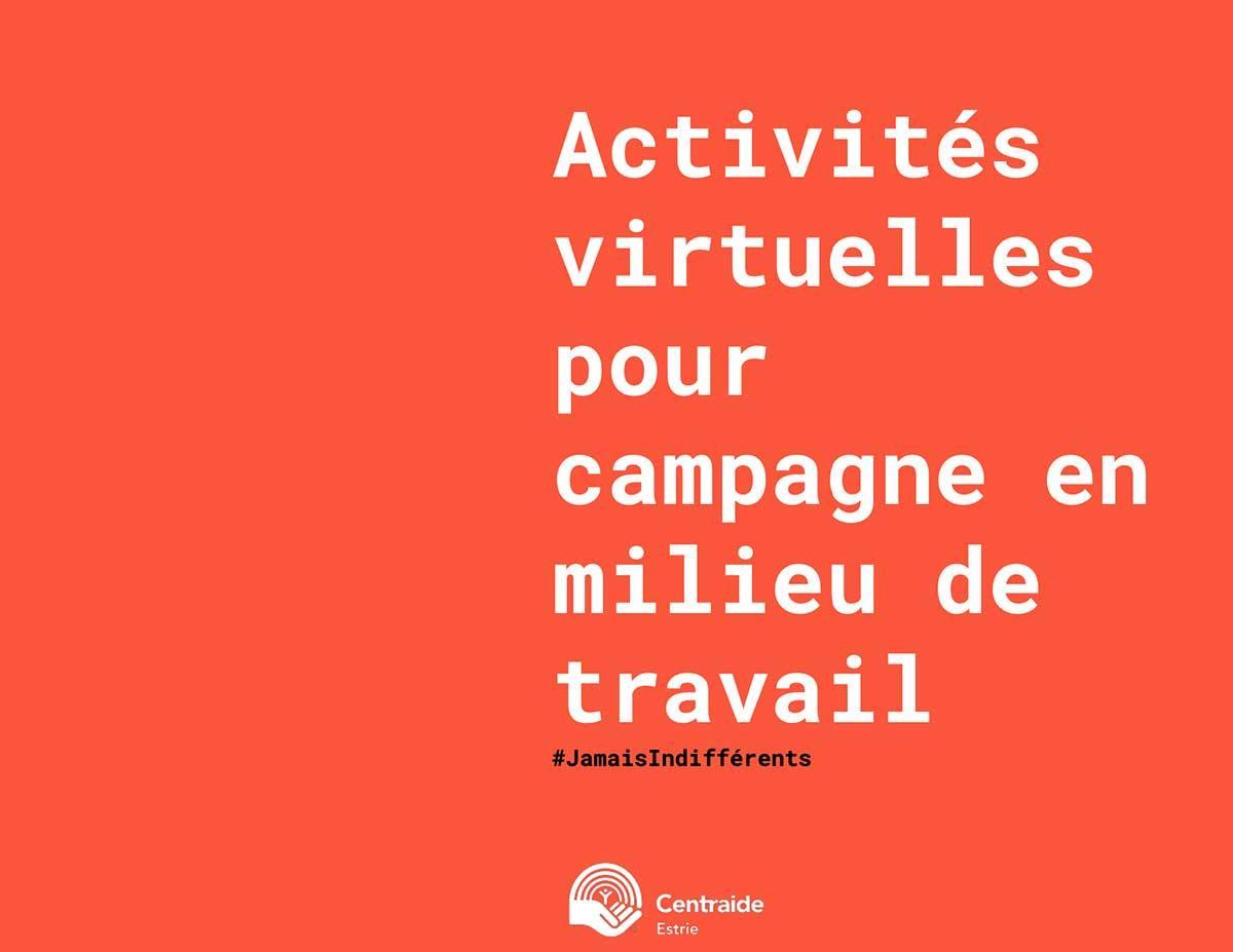 Idées d'activités virtuelles de campagne